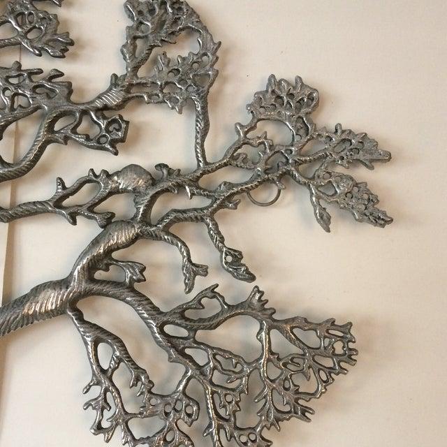 Mid-Century Industrial Aluminum Tree of Life - Image 8 of 11