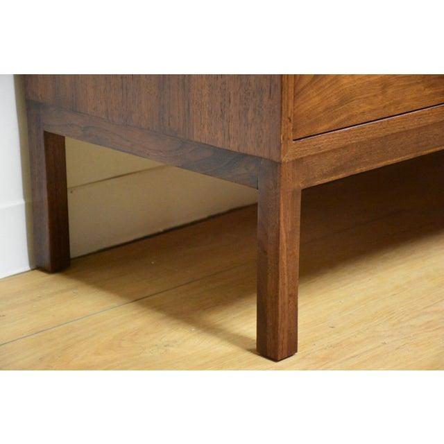 Mid Century Walnut 12 Drawer Dresser - Image 11 of 11