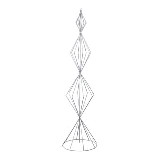 Tony Paul Metal Wire Christmas Tree Sculpture For Sale