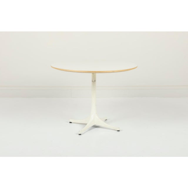 George Nelson Herman Miller Pedestal Side Table For Sale - Image 10 of 10