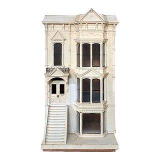 Victorian Hand Made Doll House For Sale