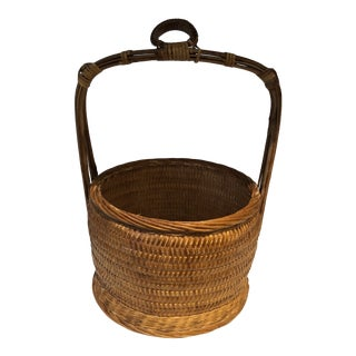 Chinese Weaved Bucket For Sale