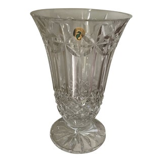 "Waterford Balmoral Crystal Vaseb10"", New. Retail Price $259, Reduced"