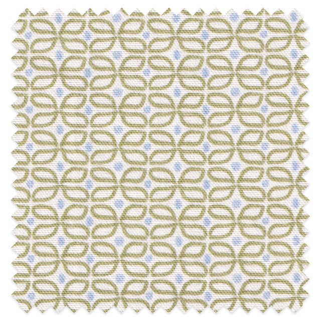 Modern Sample - Pepper Loomi Green Fabric For Sale - Image 3 of 3