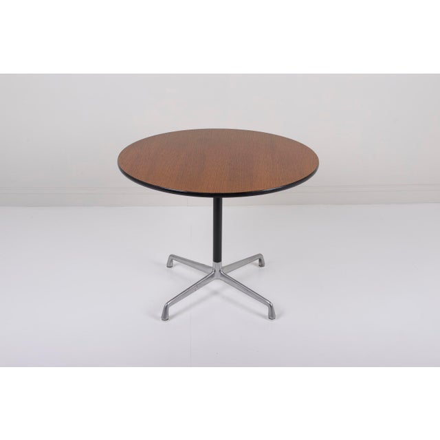 Vintage Herman Miller Eames Aluminum Group Dining Table Chairish