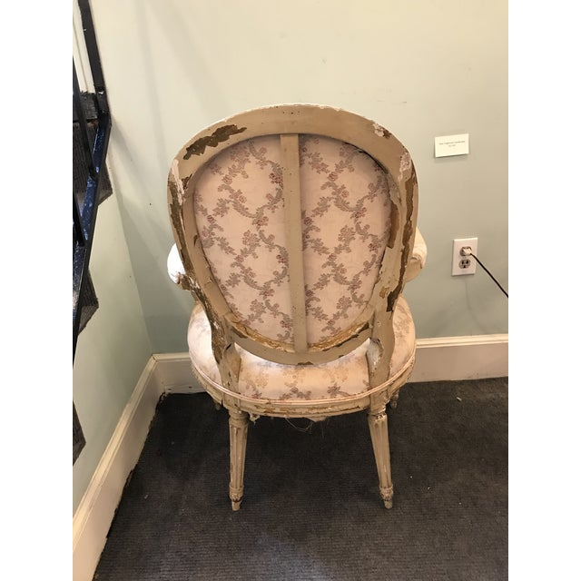 Early 20th Century French Louis XV Style Chairs - a Pair For Sale In Boston - Image 6 of 8