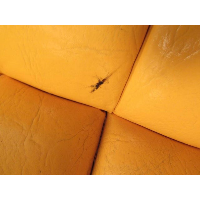 Mid-Century Modern Tufted Chesterfield Sofa For Sale - Image 9 of 10