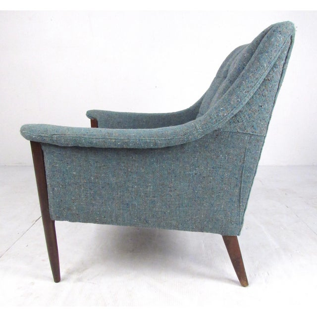 Pair Danish Modern Lounge Chairs For Sale - Image 4 of 13