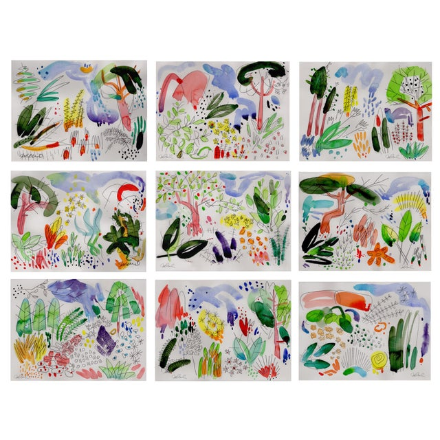 """English Garden Set of 9 8x10"""" Giclee Prints. For Sale - Image 11 of 11"""