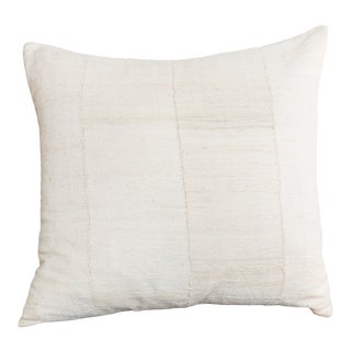 Cream colored Boho Chic Pillow and insert