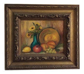 Image of Newly Made Fruit Oil Paintings