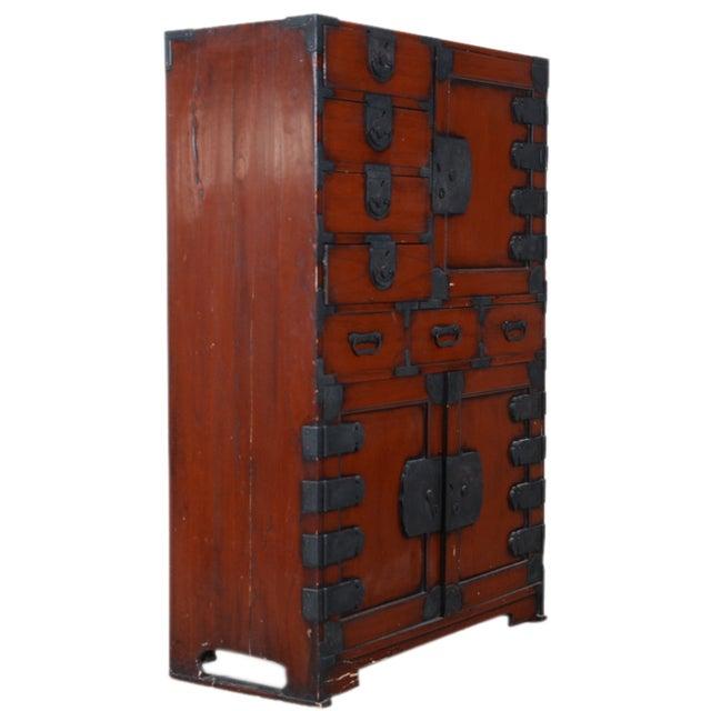 Vintage Japanese Tansu Cabinet - Image 4 of 8