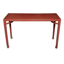 Image of Chinese Console Tables