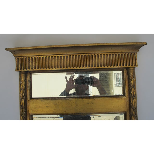Antique French 19th Century Trumeau Mirror - Image 4 of 4