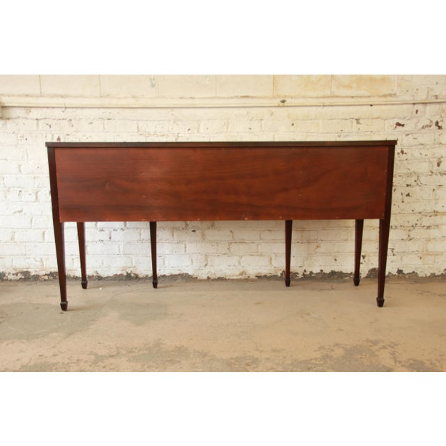 Kittinger Hepplewhite Inlaid Mahogany Sideboard Buffet For Sale - Image 11 of 11