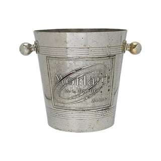 1940s French Reims Morlant Champagne Bucket For Sale