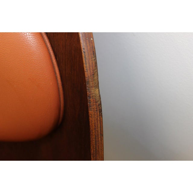 Mid Century Modern Bent Plywood and Vinyl Dining Chairs For Sale - Image 11 of 13