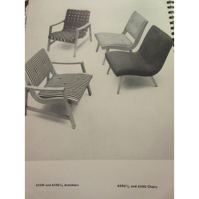 Birch Jens Risom for Knoll Associates Armchair For Sale - Image 7 of 8