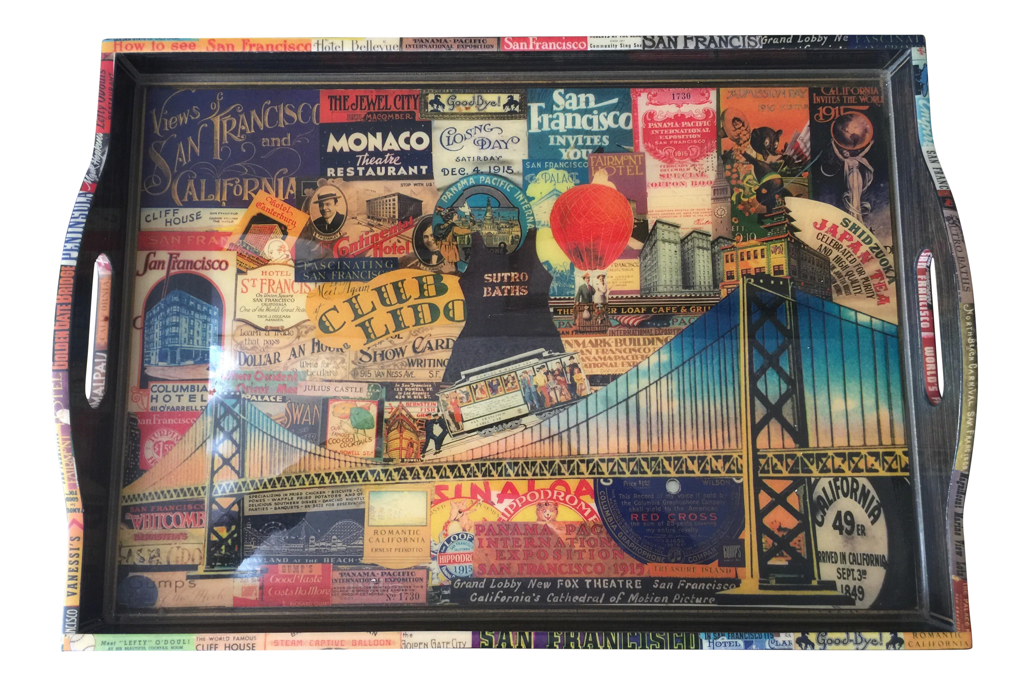 Beautiful Annie Modica For Gumpu0027s San Francisco Wooden Tray
