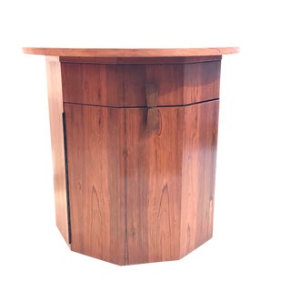 Harvey Probber Rosewood Dry Bar Cabinet For Sale