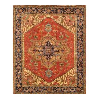"""Pasargad Serapi Wool Area Rug - 9' 0"""" x 9' 2"""""""