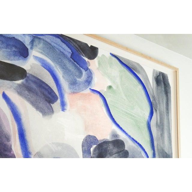 """Wood Imaginary Landscape #1, Mark Frohman, Framed 56"""" X 40"""" For Sale - Image 7 of 9"""