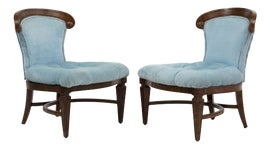 Image of Newly Made Traditional Slipper Chairs