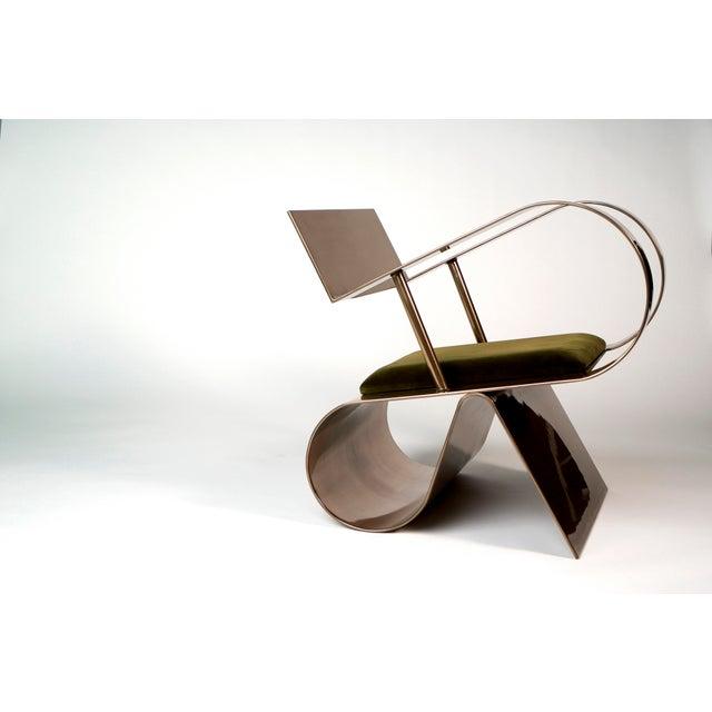Jason Mizrahi Jason Mizrahi Symphony Chair For Sale - Image 4 of 4
