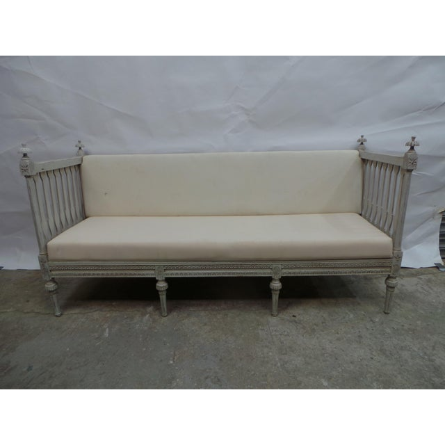Wondrous Swedish Gustavian Sofa Squirreltailoven Fun Painted Chair Ideas Images Squirreltailovenorg