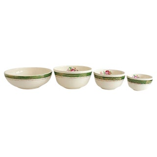 1950s Serving Bowls, Set of 4 For Sale