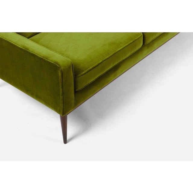 Paul McCobb wingback sofa, model 1307 for Directional furniture. Sofa has been meticulously restored by Modern Drama....