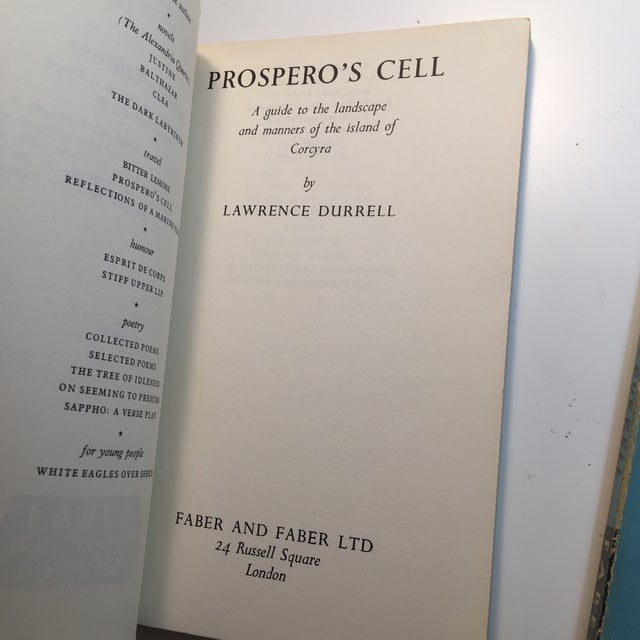 Lawrence Durrell Soft Cover Books - A Pair For Sale - Image 5 of 7