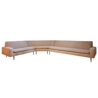 Harvey Probber Three-Piece Sectional Sofa For Sale