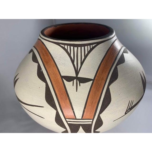 Southwest Zia Pueblo Roadrunner Polychrome Pottery For Sale In Denver - Image 6 of 12
