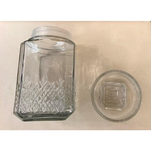 Vintage Square Canister Jar - Image 9 of 11