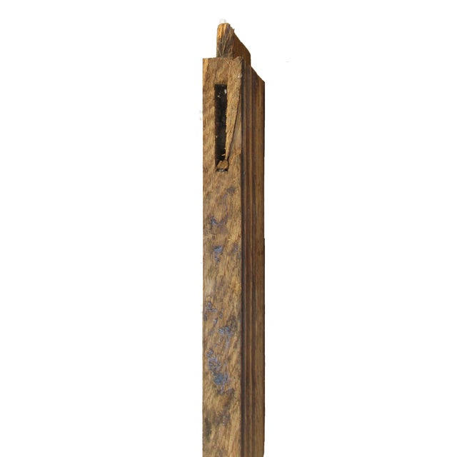 Farmhouse Vintage English Wood Architectural Element For Sale - Image 3 of 4