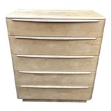 Image of 1950s Vintage Mid Century Modern Heywood Wakefield Highboy Dresser For Sale