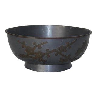 1940's Pewter Bowl For Sale