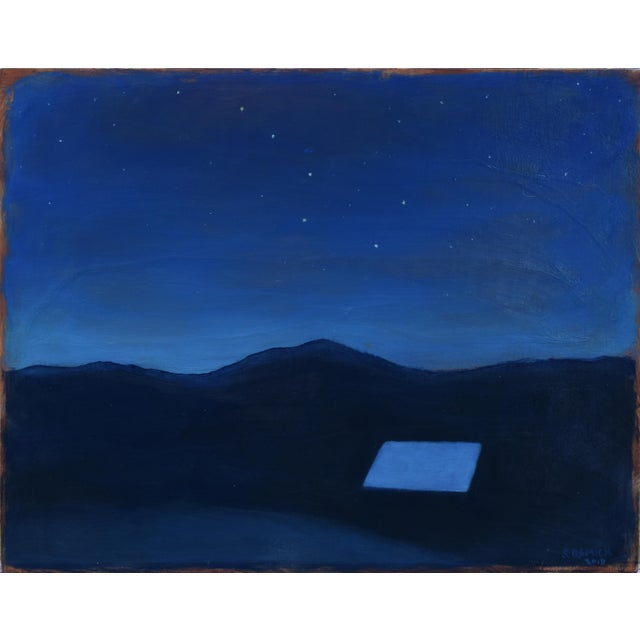 """Stephen Remick """"Under the Big Dipper"""" Painting For Sale - Image 10 of 10"""