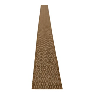 """Transitional Ochre Dot 1.5 """" Band Fabric Trim - 24 Yards For Sale"""