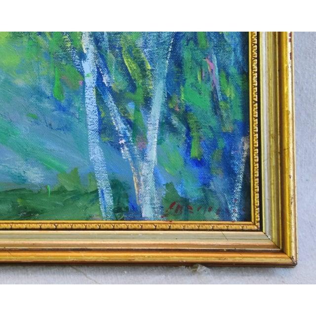 "Original Juan ""Pepe"" Guzman, Ojai California Landscape Oil Painting For Sale - Image 4 of 9"