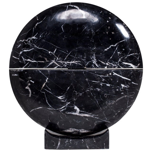 2010s Core Marble Table Lamp by Carlos Aucejo For Sale - Image 5 of 5