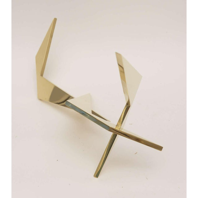 Abstract Bronze Signed Larry Mohr Sculpture For Sale - Image 10 of 11