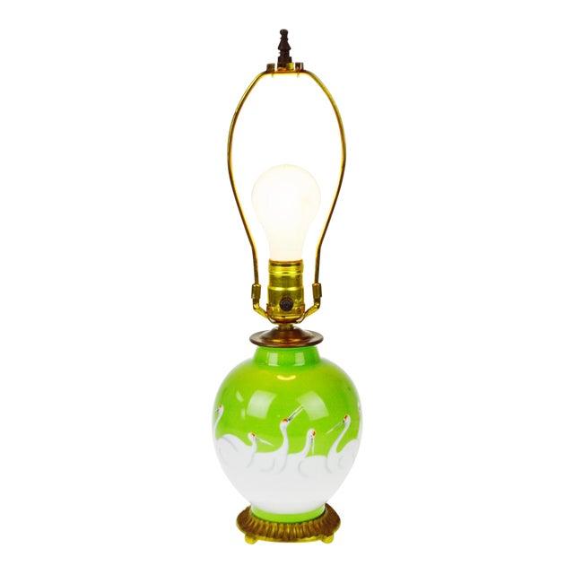 Vintage Morimura Bros. Noritake Vase Table Lamp - Image 1 of 11