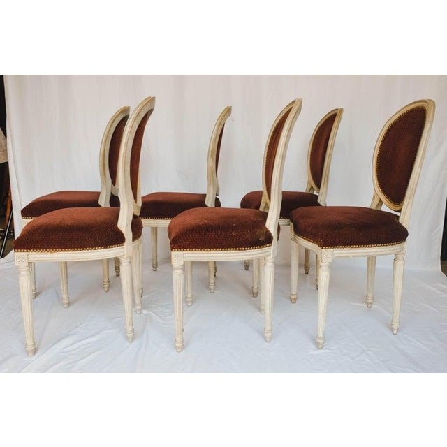 Set of 6 French Chairs For Sale - Image 9 of 13