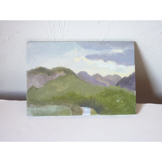 Contemporary Late 20th Century Susan Scott Oil Sketch Paintings - Set of 3 For Sale - Image 3 of 7