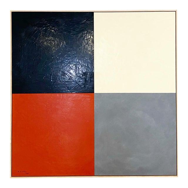 John O'Hara. Square Dance, 3. Encaustic Painting For Sale