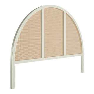 Eva Headboard - King - Simply White For Sale