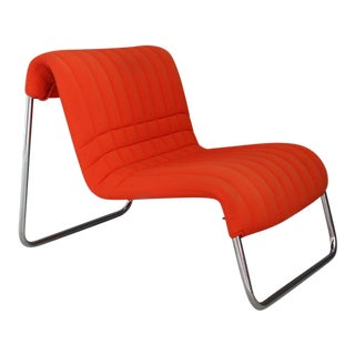 Chairs Lounge Italian Midcentury by De Pas and Lomazzi for Driade, 1970s For Sale