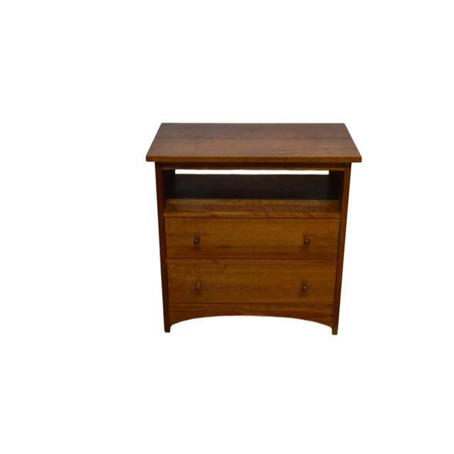 Stickley Bedside End Side Table Nightstand For Sale - Image 12 of 12